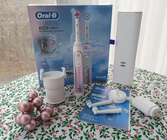 Oral B Genius 9600 would make a great Christmas gift.