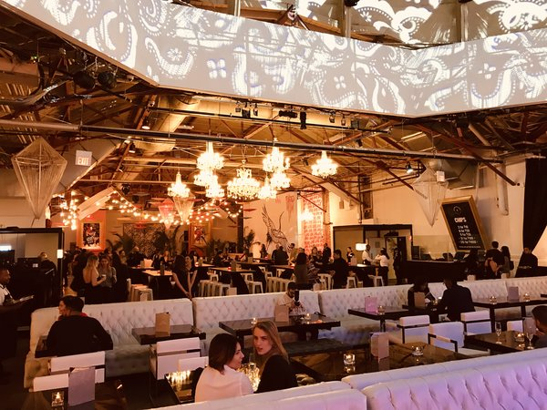 Dining hall at Grand Bizarre Supper Club