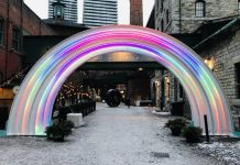 Phoenix Rainbow at Toronto Distillery District 2019