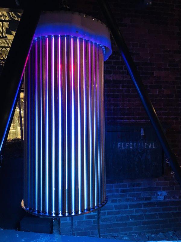 Strange Attractor at Toronto Light Festival 2019