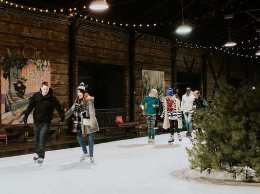 Winter Wednesdays at Evergreen Brick Works, photo credit Scarlet O'Neill