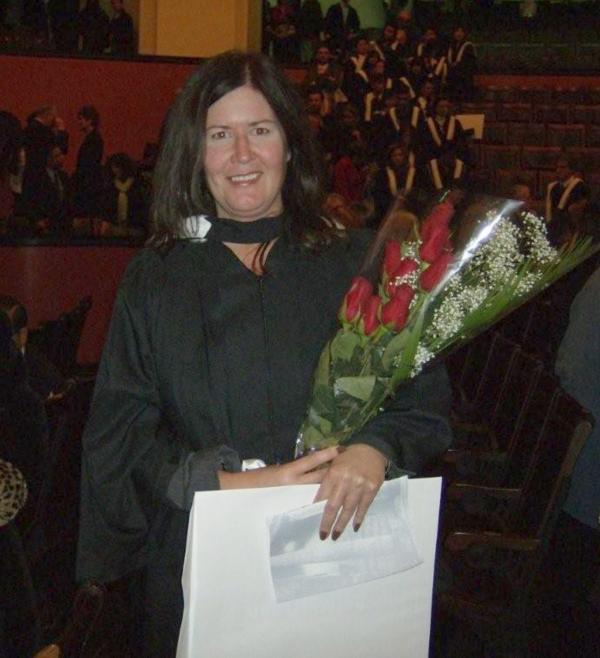Me graduating with a B.A. Honours from the University of Toronto