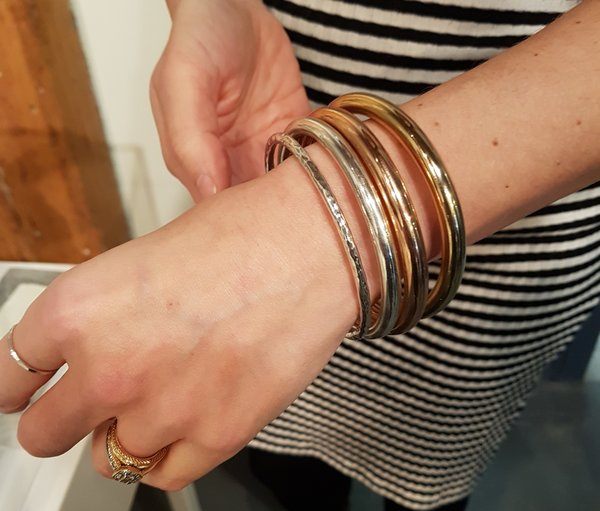 Bangles from Erin Tracy's Charmed Collection