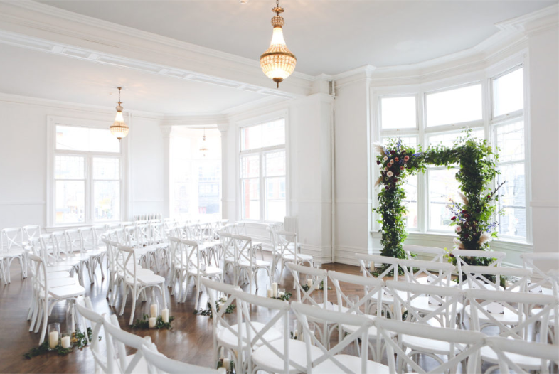 The Great Hall is a gorgeous wedding venue in Toronto.