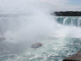 The Hornblower Cruise at Niagara Falls