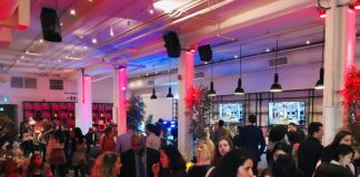 Main space at Love Child Social House in Toronto