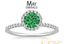 Emerald is the birthstone for May