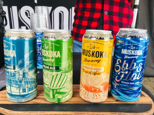 Muskoka Brewery beer at Canada's Wonderland