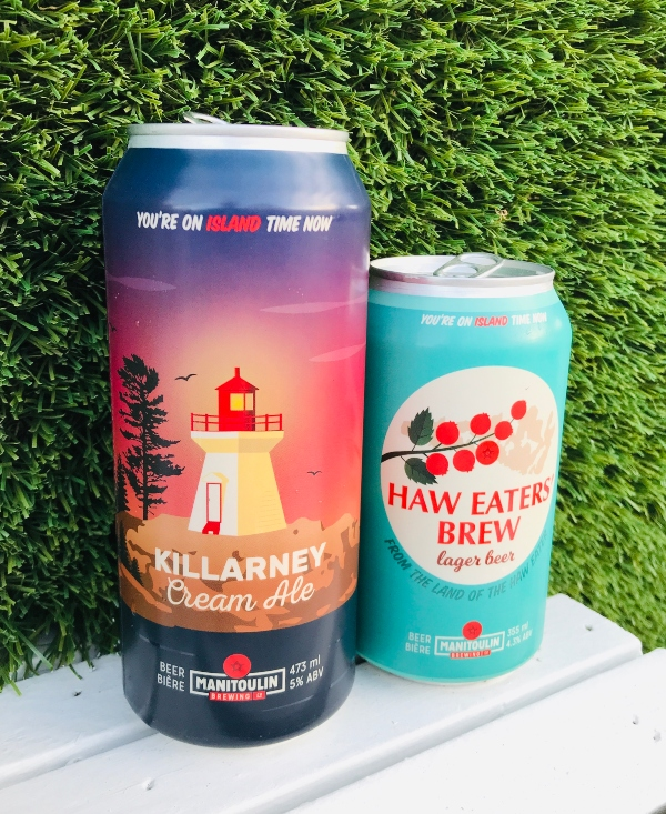 Beer options at Bizarre Beach Club