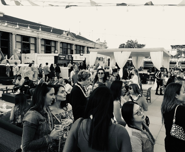 Crowd at Bizarre Beach Club