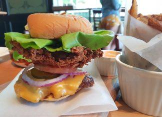 The Bang Bang Burger at The Davenport