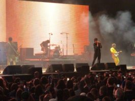 The Strokes at Budweiser Stage in Toronto