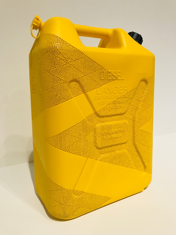 Chevron 1, 2012 at Brian Jungen exhibit at Art Gallery of Ontario