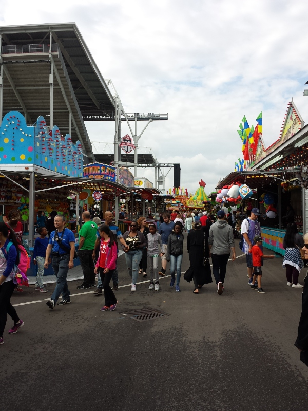 The CNE is open on Labour Day.