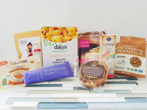Products I received at the Toronto Vegan Social Pop-Up on Sept. 5, 2019