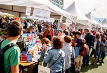 The Word On The Street Festival Exhibitor Marketplace, photo credit Frank Wood