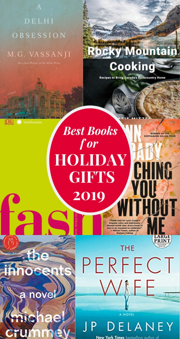 Best Books for Holiday Gifts 2019