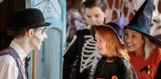 Kids at Spirit Manor at Camp Spooky at Canada's Wonderland