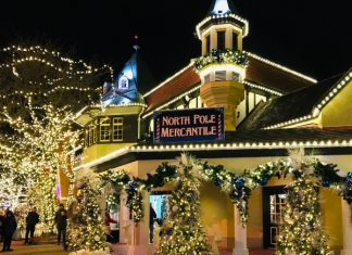 North Pole Mercantile at Canada's Wonderland