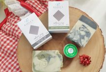 Artisan soap from Raluca Skincare is are gorgeous stocking stuffers for her