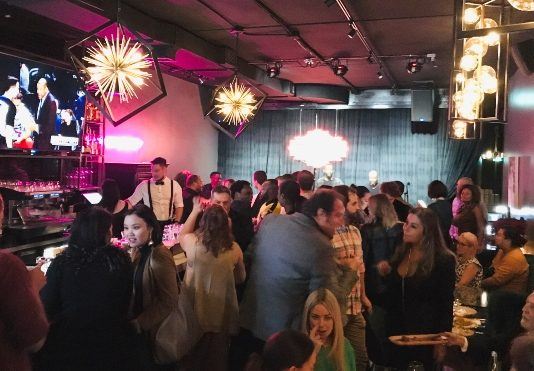 Crowd at Casablanca Supper Club