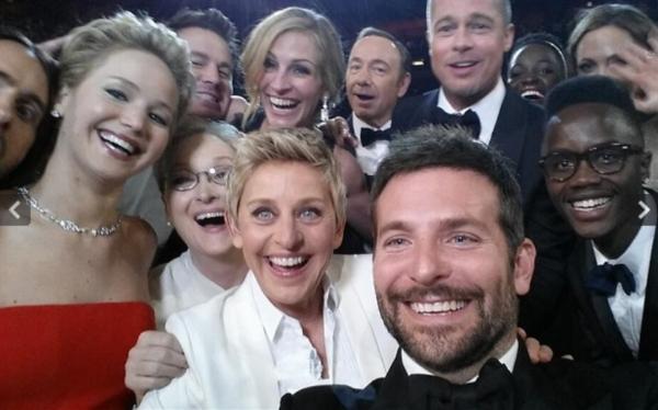 Ellen DeGeneres's Oscar 2014 selfie