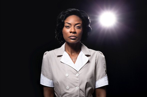 Jully Black as Caroline in Caroline, or Change, photo courtesy Mirvish