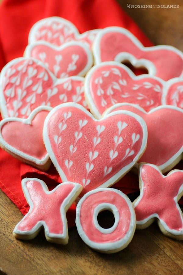 Valentines Day Sugar Cookies from Noshing with the Nolands