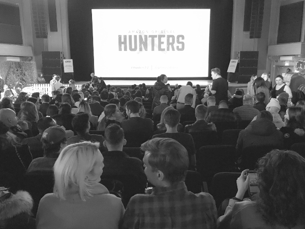 Hunters on Amazon preview at Danforth Music Hall