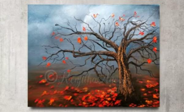 Autumn Trees by Renjitha Anoop