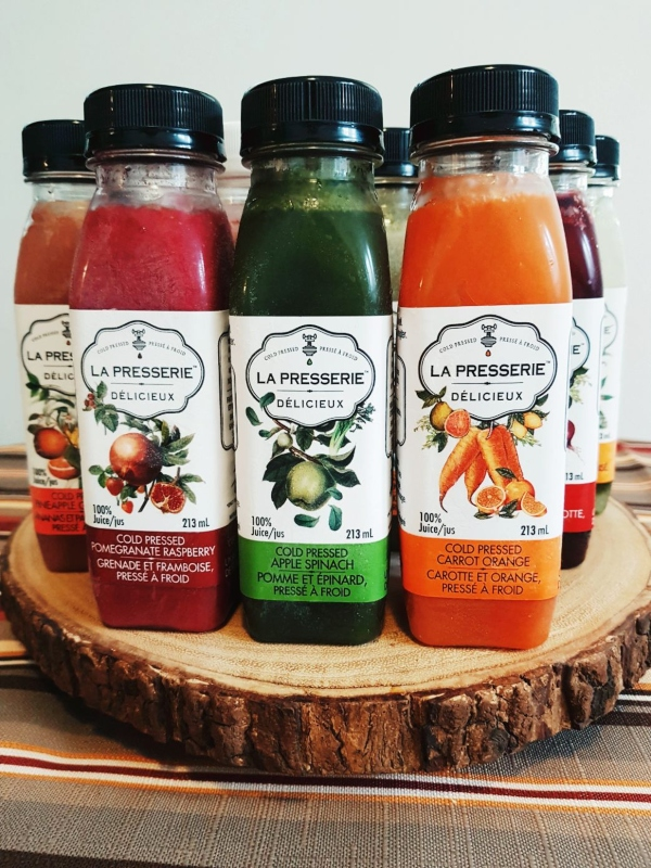 La Presserie Cold-Pressed Juices are now available in select grocery stores in Ontario.