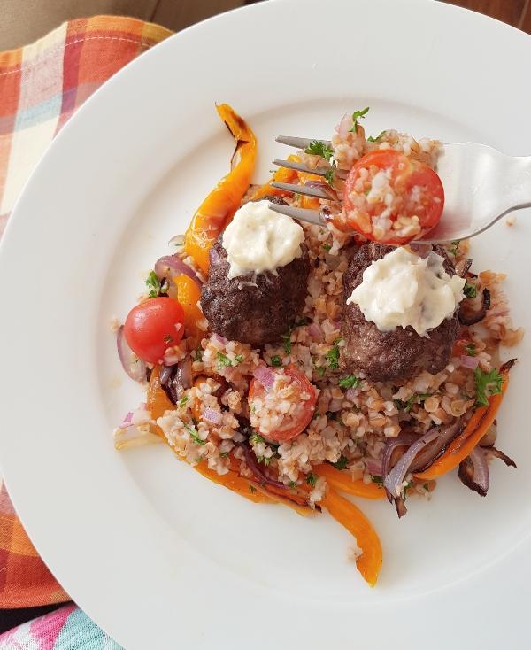 Turkish Beef Kofta by Chefs Plate
