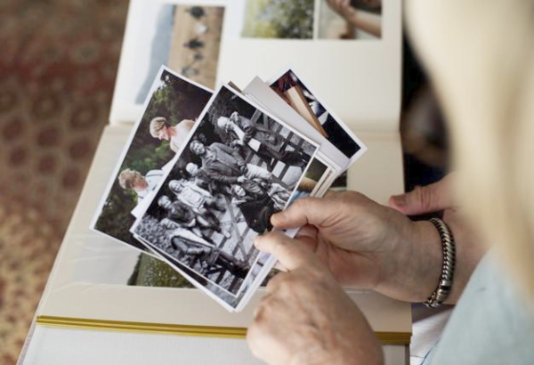 One Death Cleaning strategy could include digitizing photos to save space.