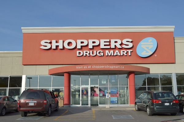 Shoppers Drug Mart, photo by Raysonho @ Open Grid Scheduler / Grid Engine - Own work, CC0, https://commons.wikimedia.org/w/index.php?curid=26897421